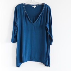 🌺2/15$ Max Studio stretch tunic soft lounge
